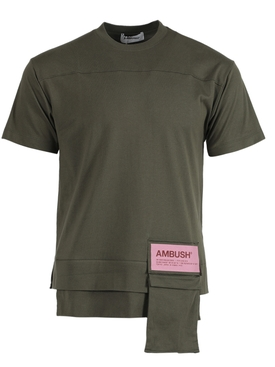 NEW WAIST POCKET T-SHIRT GREEN