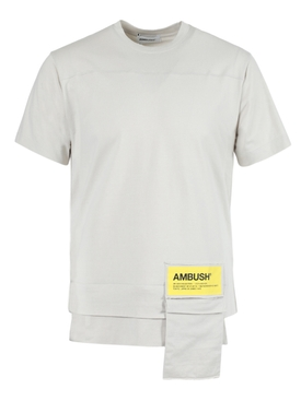 NEW WAIST POCKET T-SHIRT BEIGE
