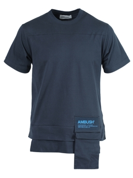 NEW WAIST POCKET T-SHIRT BLUE
