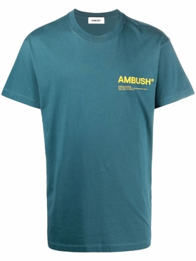 Jersey workshop t-shirt Atlantic blue