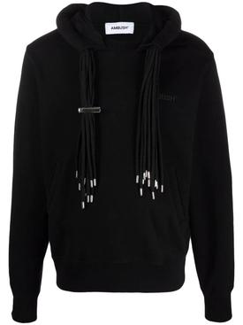 Multicord Hoodie Black