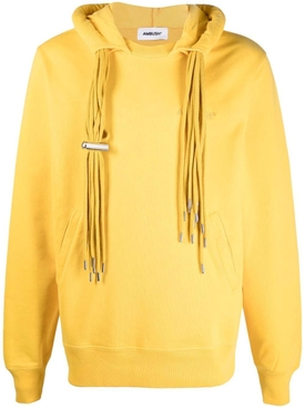 Multi-cord hoodie solar power yellow