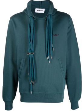 Multi-cord hoodie Atlantic deep blue