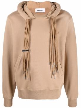Multi-cord hoodie Natural Beige