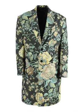 Givenchy - Multicolored Floral Long Overcoat - Men