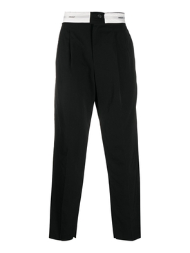 Folded Trouser 2 BLACK