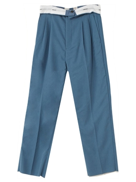 Folded Trouser 2 BLUE