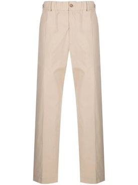 Relax fit cotton pants, sesame beige