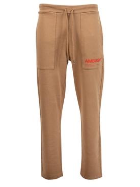 Fleece workshop pants natural beige