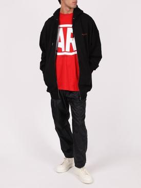 Zipped hoodie jacket, Black