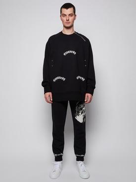 power of three gothic oversized sweater