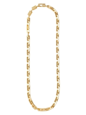 A CHAIN LINK NECKLACE GOLD