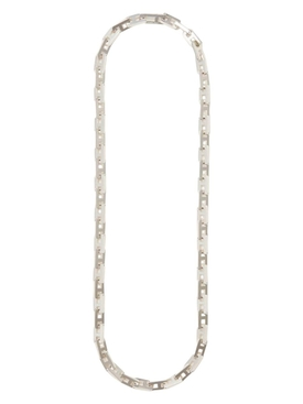A CHAIN LINK NECKLACE SILVER