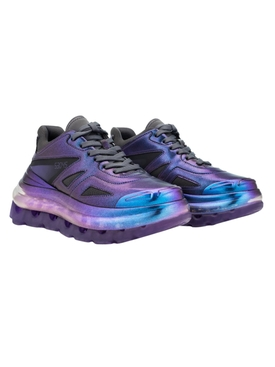 iridescent purple sneaker