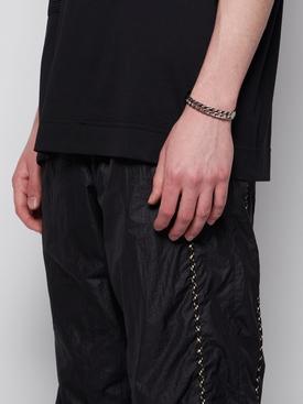 Silver-tone G Chain Bangle Bracelet