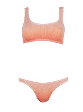 The Malibu Bikini Set Rose Gold