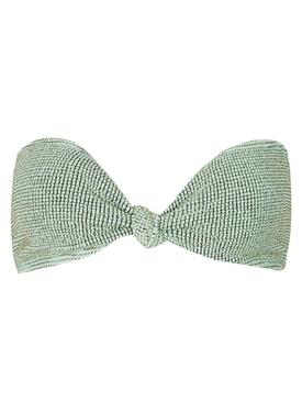 The Sahara Bandeau Bikini Top Mint