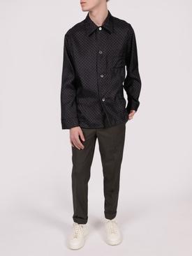 Slim-fit Wool Trousers GREY