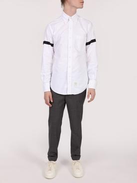 Slim-fit Wool Trousers BLACK