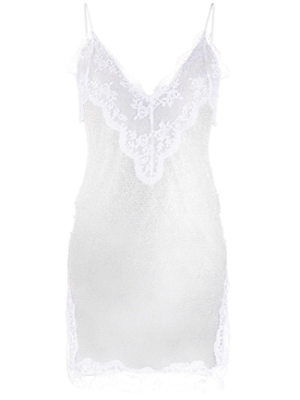 CRYSTAL MESH CAMI DRESS