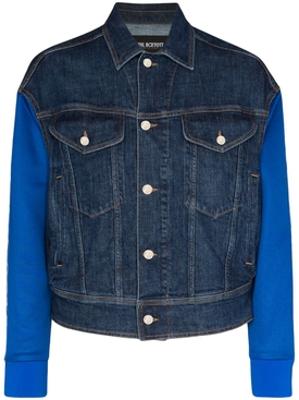 Blue Denim Woven Jacket