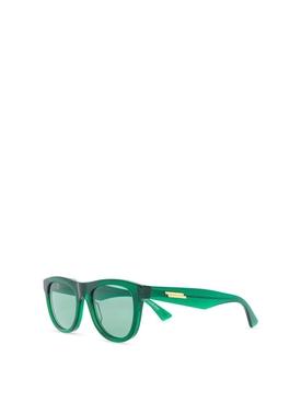 Transparent Sunglasses Green