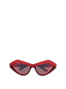 Reflective Sunglasses Red