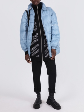 Light Blue Puffer Jacket