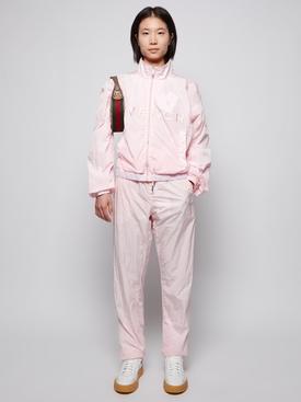 4G Impermeable Jogger Jacket Light Pink