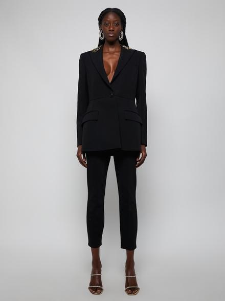 Givenchy Black Sequin Blazer