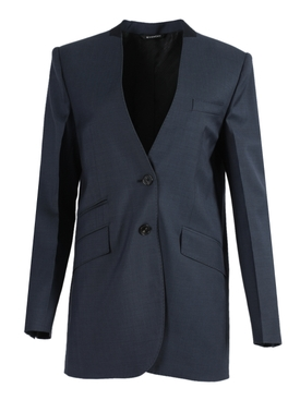 Boxy Over-sized Navy Blazer Jacket