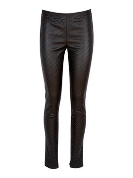 Black Leather Leggings
