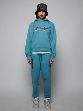 CROPPED JOGGING PANTS, CELESTIAL BLUE