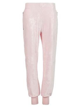 Cropped Jogger Pants Light Pink