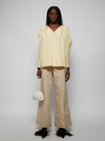 Givenchy Puffy Sleeve Blouse