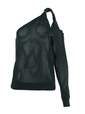 Givenchy - Perforated One-shoulder Top - Women