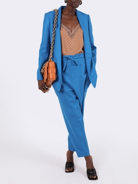 Blue twill woven jacket