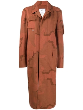 TERRACOTTA REGENERATED MILITARY COAT