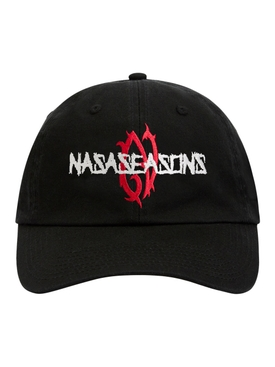 Black and Red Tribal Cap