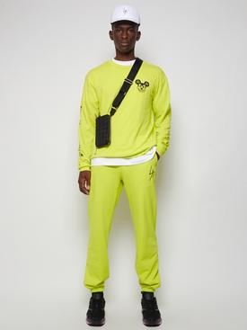 Mischief Long Sleeve Shop Tee Neon Yellow
