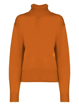 Rusted orange cashmere sweater