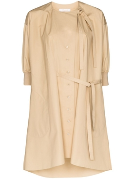 Chloé - Khaki Button-down Shirt Dress - Women