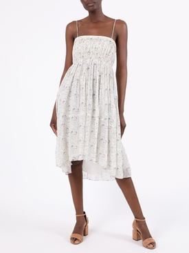 Floral Silk Georgette Dress