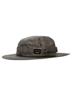 Face Fisherman Bucket Hat, Black