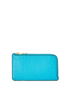 REPEAT COIN CARDHOLDER CYAN BLUE