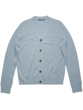 Light Blue Wool Cardigan