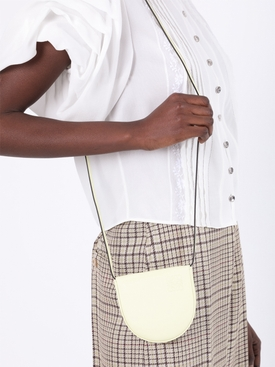 Pale Lime Small Heel Pouch Bag