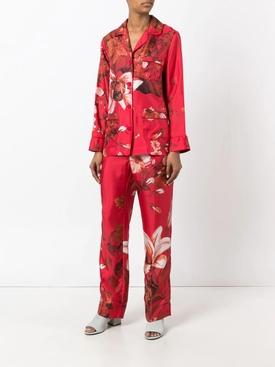 Floral Print Pajama blouse