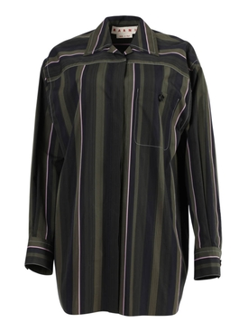 Marni - Multicolored Striped Button-down Shirt - Women