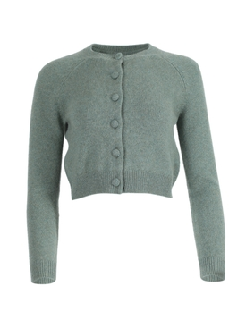 Mila cashmere cardigan GREEN
